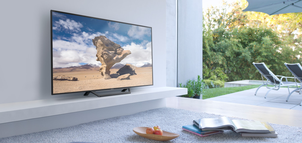Sony WD600 series Smart TV met Sony Entertainment Network